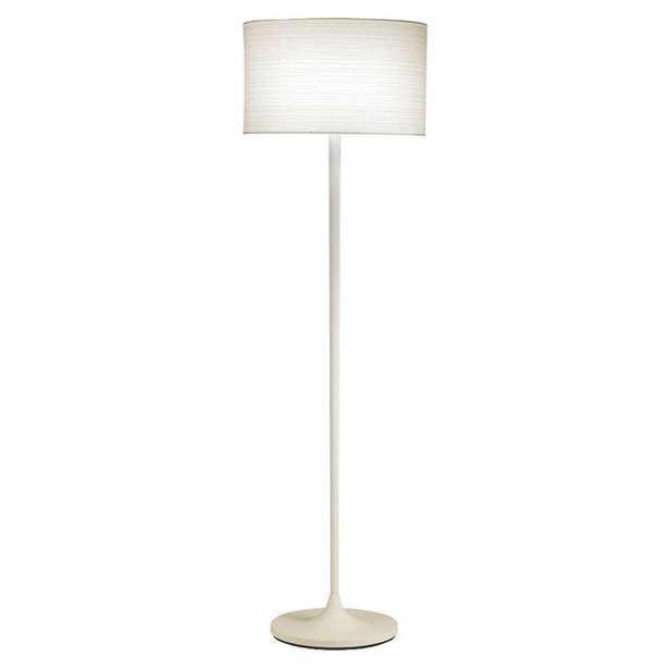 Adesso Oslo 60 in. White Floor Lamp - Home Depot