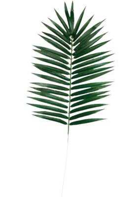 Faux Palm Leaf (Set of 6) - Wayfair