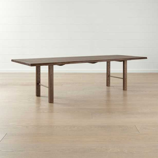 """Montana 110"""" Live Edge Dining Table - Crate and Barrel"""