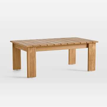 Playa Outdoor Coffee Table - West Elm