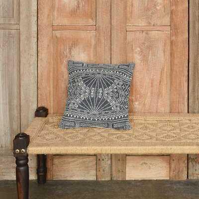 Ricciardi Indigo Batik Pillow 16x16 - Wayfair
