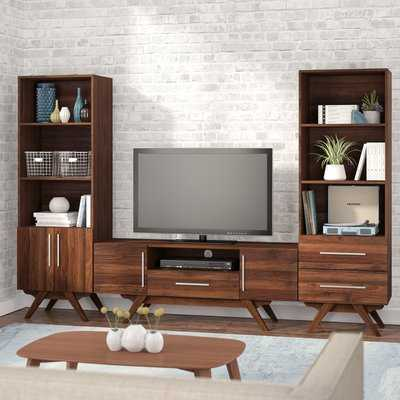 Barclay Entertainment Center for TVs up to 65 inches - Wayfair