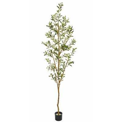 Artificial Olive Tree in Planter - Wayfair