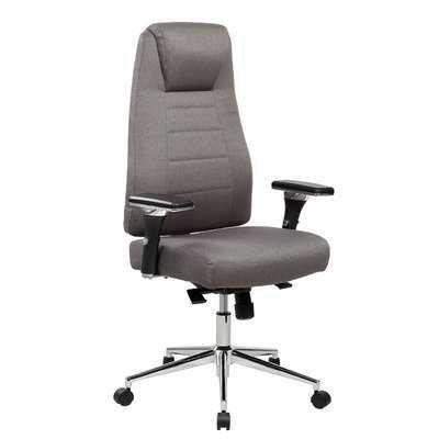 Henson Height Adjustable Executive High-Back Home Office Chair with Wheels - Wayfair