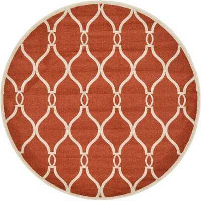 Molly Terracotta Area Rug - Wayfair
