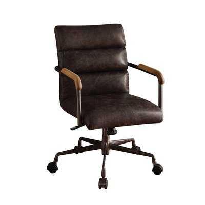 Sophia Conference Chair, Antique Ebony - Wayfair