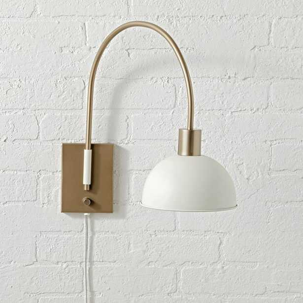 Single Wall Mounted Adjustable Light - Crate and Barrel