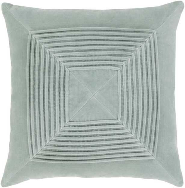 "Akira - 18"" Pillow  with Down Insert - Neva Home"