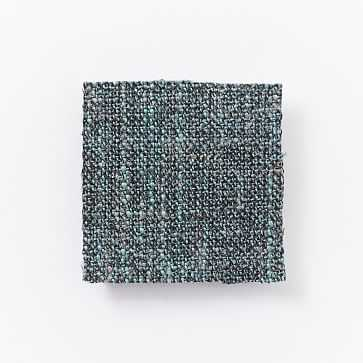 Upholstery Fabric by the Yard, Heathered Tweed, Marine - West Elm