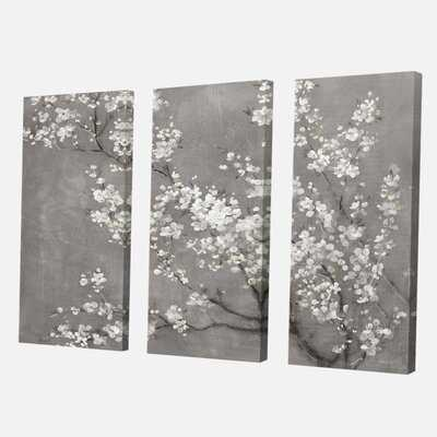 'White Cherry Blossoms II' Painting Multi-Piece Image on Canvas - Wayfair