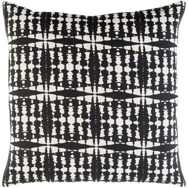 Ritu Poly Euro Pillow, Black - Home Depot