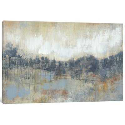 Cool Grey Horizon Cool Gray Horizon I by Jennifer Goldberger - Wrapped Canvas Graphic Art Print - AllModern