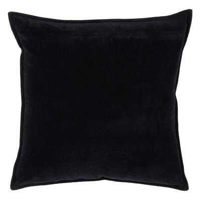 Wert Decorative with Solid Velvet Design Cotton Throw Pillow - Wayfair
