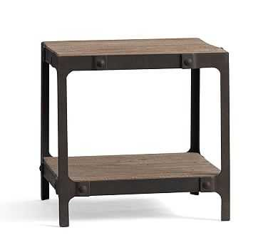 Clint Reclaimed Wood Side Table - Pottery Barn