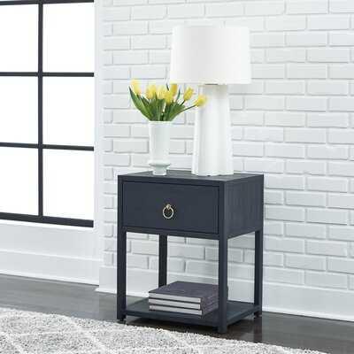 Napavine End Table with Storage - Wayfair