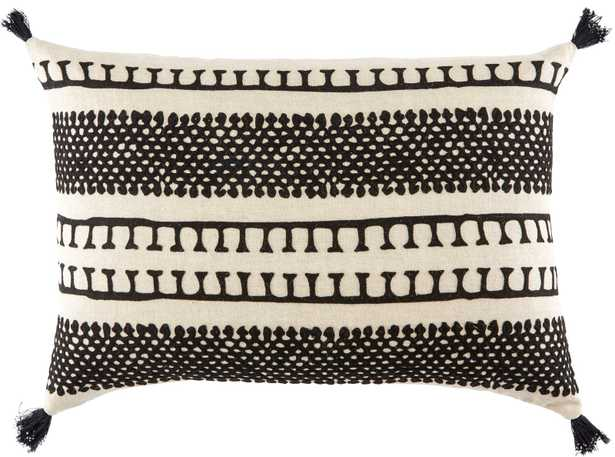 """Nki35 16""""X24"""" Pillow, Poly Fill - Collective Weavers"""