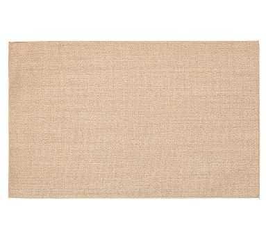 Fiberworks Custom Panama Sisal Rug, 11 x 15', Sand Border - Pottery Barn