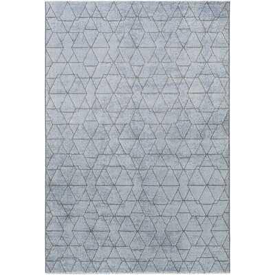 Larrick Blue Area Rug - Wayfair