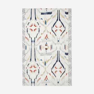 Janus Ikat Rug, Multi, 5'x8' - West Elm