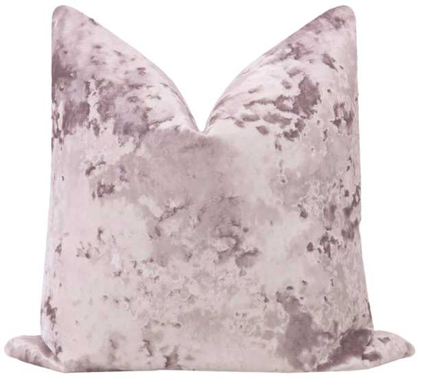 "Lavish Velvet // Smokey Lavender - 18"" X 18"" - Little Design Company"