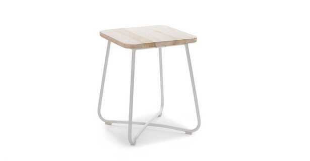 Nimbus White Side Table - Article