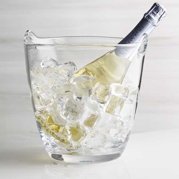 Perry Glass Wine Bucket - Crate and Barrel