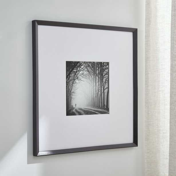 Icon 11x11 Black Picture Frame - Crate and Barrel