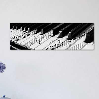'Piano' Photographic Print on Canvas - Wayfair