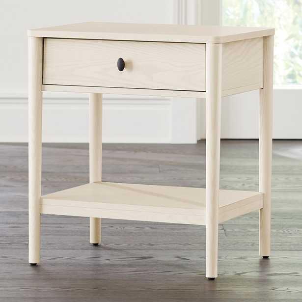 Gia Cream Ash Nightstand - Crate and Barrel