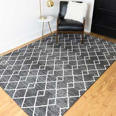 Ariton Black Indoor/Outdoor Area Rug - Wayfair