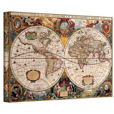 World Map 2 Piece Graphic Art on Wrapped Canvas Set - Wayfair