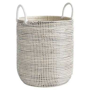 Woven Seagrass Catchall, Natural - Pottery Barn Teen