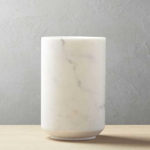 Stone Cold Marble Wine Chiller - CB2
