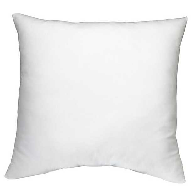 White Solid Down Alternative 22 in. x 22 in. Throw Pillow (Set of 2) - Home Depot