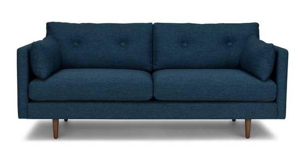 "Anton Twilight Blue 74"" Sofa - Article"