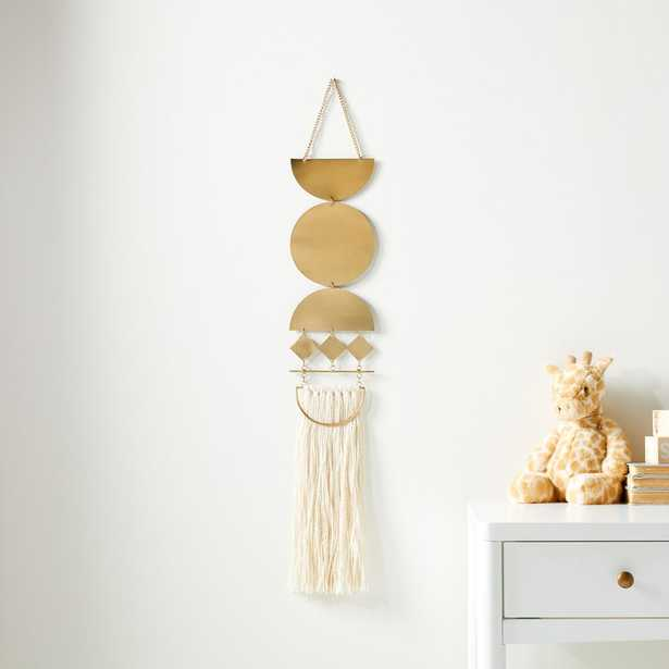 Mixed Material Wall Hanging - Crate and Barrel