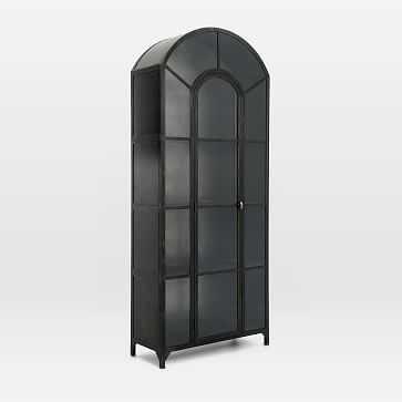 Archway Windowed Cabinet - West Elm