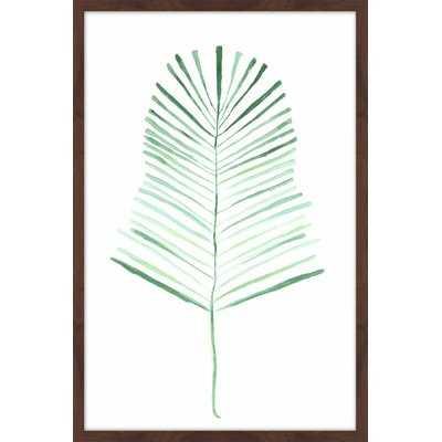 'Palm Frond' Framed Painting Print - AllModern