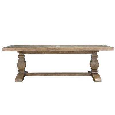 Gertrude Solid Wood Dining Table - Wayfair