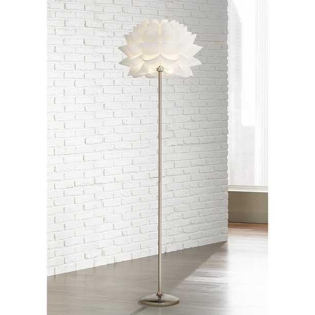 Possini Euro Design White Flower Floor Lamp - Style # M4705 - Lamps Plus