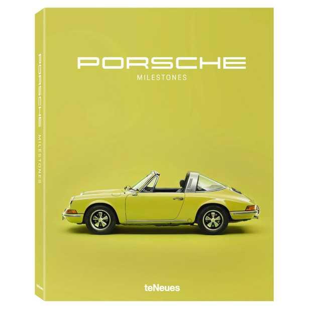 teNeues Porsche Milestones Hardcover Book - Kathy Kuo Home
