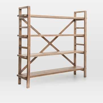 Reclaimed Pine Wood Bookshelf - West Elm