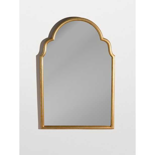Best Home Fashion Gold Finish Moroccan Look Arched Mirror - Home Depot