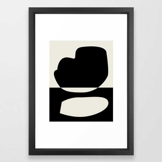 // Reverse 01 Framed Art Print by Mpgmb - Society6