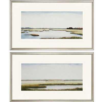 'Marshlands I' 2 Piece Framed Painting Print Set - Wayfair
