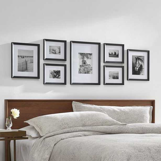 Icon Black Frame Gallery, Set of 7 - Crate and Barrel