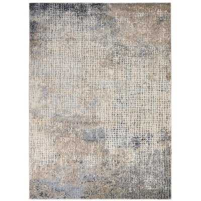 Pugliese Abstract Gray/Beige Area Rug - Wayfair