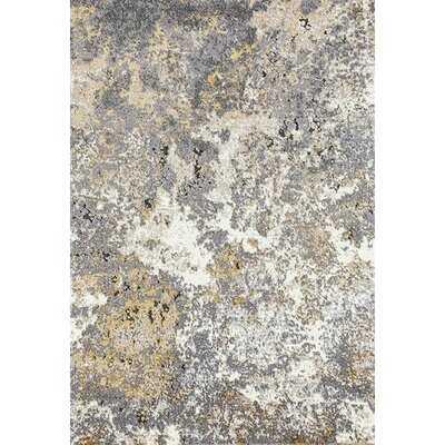 Sartain Abstract Beige/Gray Area Rug - Wayfair