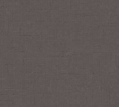 Burlap Wallpaper, Charcoal - Pottery Barn