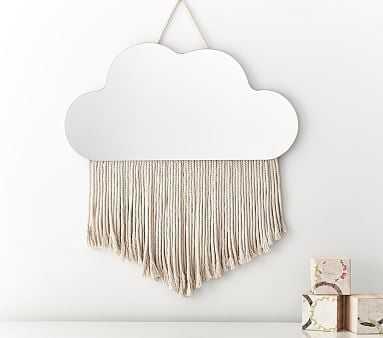 Cloud Fringe Mirror - Pottery Barn Kids